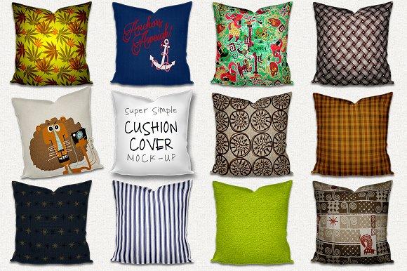 Download Mock-up Throw Pillow Cushion