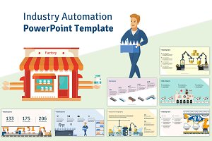 Industry Automation PPT Template