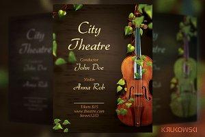 Violin Concert Flyer