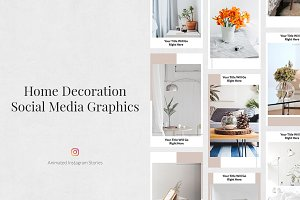 Home Decoration Animated IG Stories