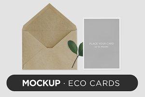 Mockup · Eco Cards