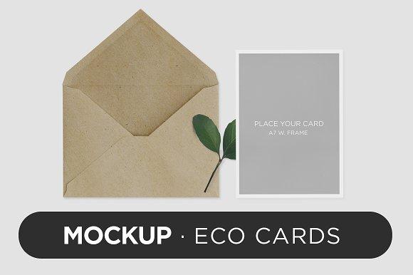 Download Mockup · Eco Cards