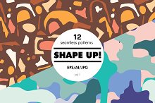 Shape Up! by  in Patterns