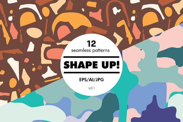 Graphic Patterns: Studio.lize - Shape Up!