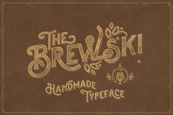 Retro Vintage Font Collection in Retro Fonts - product preview 6