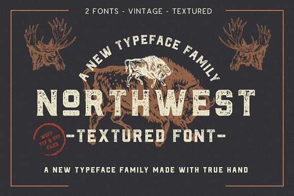 Retro Vintage Font Collection in Retro Fonts - product preview 15