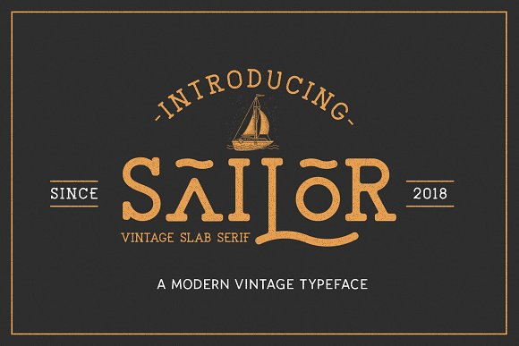 Retro Vintage Font Collection in Retro Fonts - product preview 17