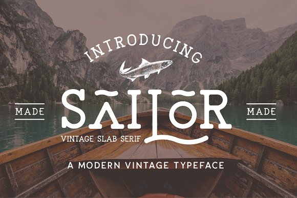 Retro Vintage Font Collection in Retro Fonts - product preview 18