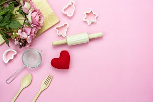 Valentines Day & Cooking decoration