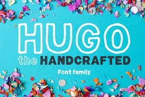 Hugo - The huge handlettered family
