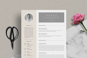 Resume Template 5 Page   CV Template