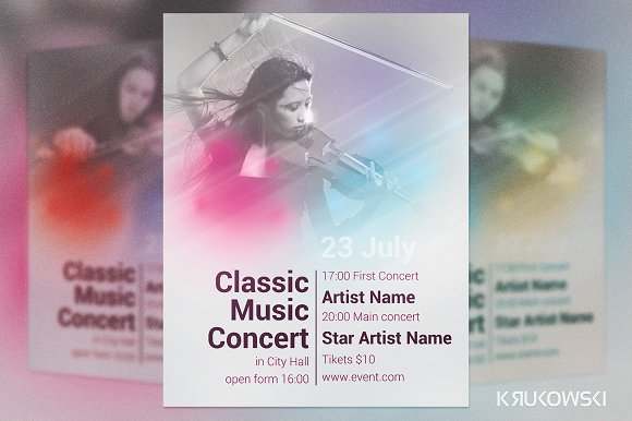 Classic Music Concert Flyer