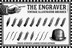 The Engraver - Vintage Brushes