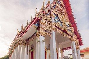 Thai temple in Phuket Town Wat