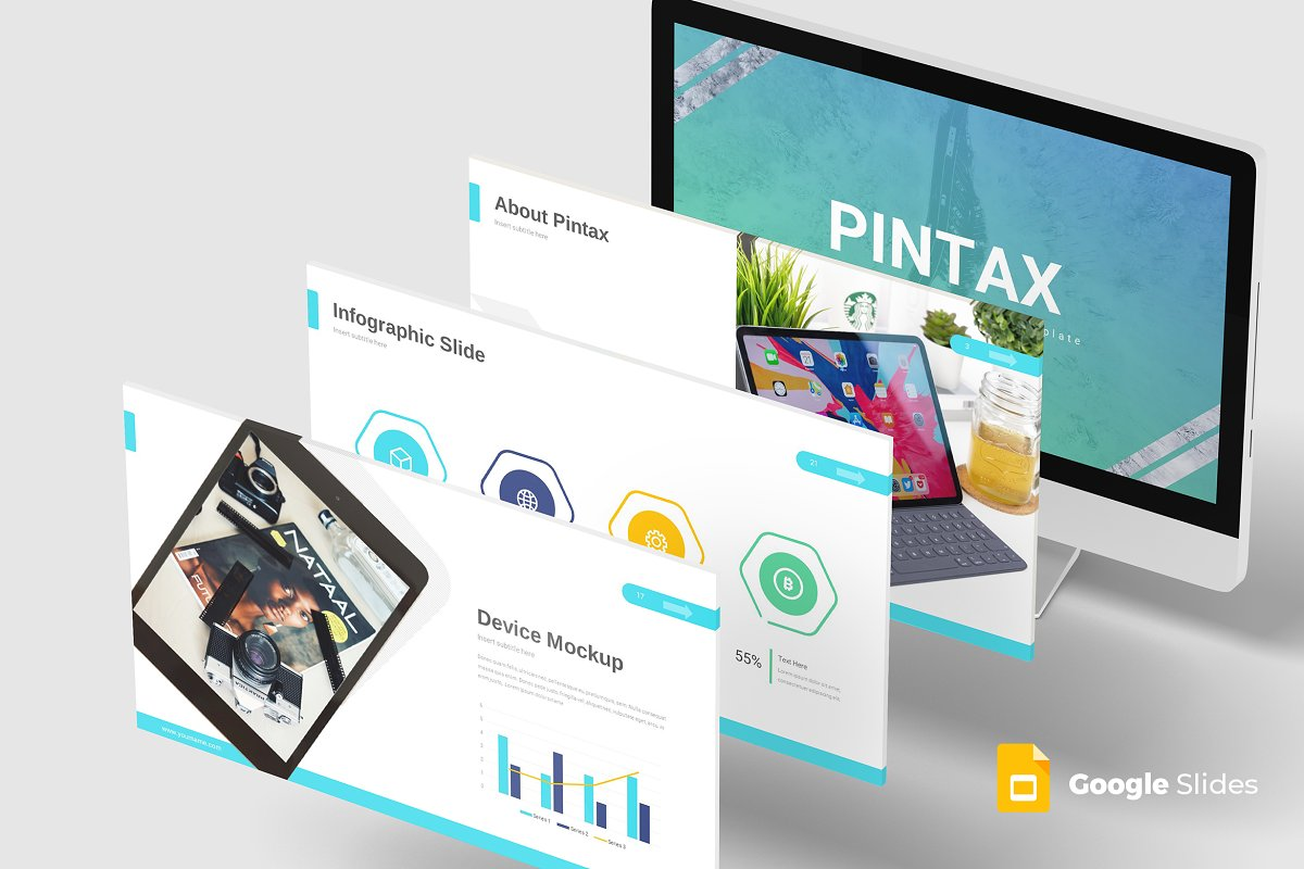 Pintax - Google Slide Template
