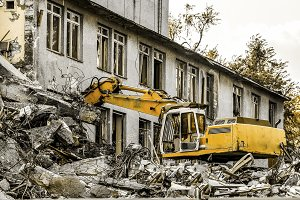 demolition of a building
