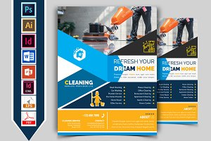 Cleaning Service Flyer Vol-02