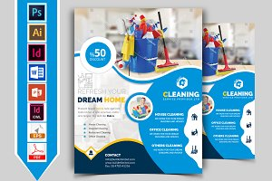 Cleaning Service Flyer Vol-01