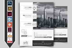 Minimal Corporate Business Flyer V-3