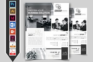 Minimal Corporate Business Flyer V-2