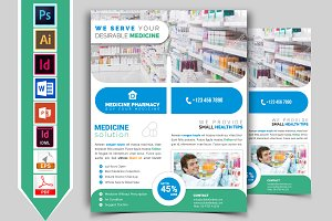Pharmacy Flyer Template Vol-03