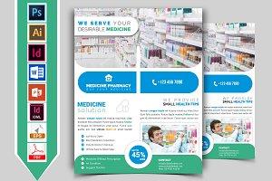 Pharmacy Flyer Template Vol-03