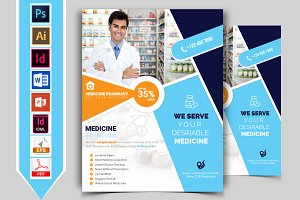 Pharmacy Flyer Template Vol-02