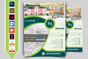 Pharmacy Flyer Template Vol-01