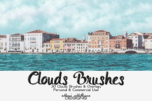 Clouds Brushes & Overlays