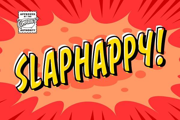 Slap Happy Stunning Display Fonts Creative Market