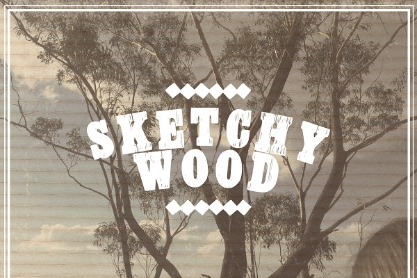 Fonts - Sketchy Wood