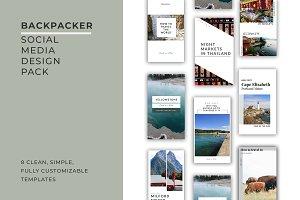 Backpacker Social Media Pack