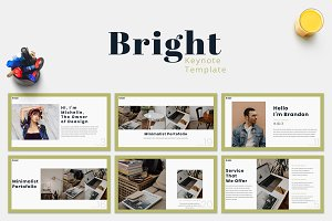 Bright - Keynote Template