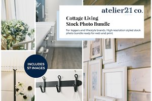 Cottage Living | Stock Photo Bundle