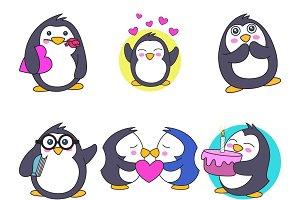 Illustration Of Cute Penguin
