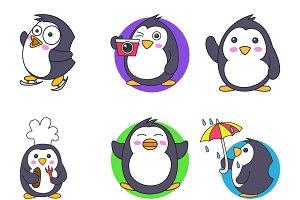 Cute Illustration Of Penguin