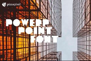 PowerPoint Font (SALE)