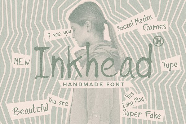 Fonts: Headfonts - Inkhead Typeface