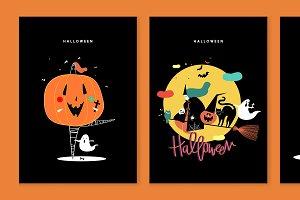 Character illustration of Halloween
