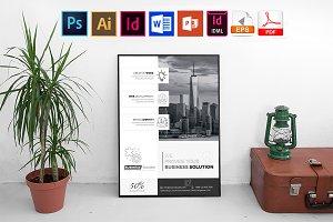 Poster | Minimal Business Vol-03