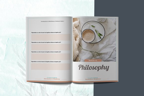 E-course Workbook / Opt-in Template in Magazine Templates - product preview 4