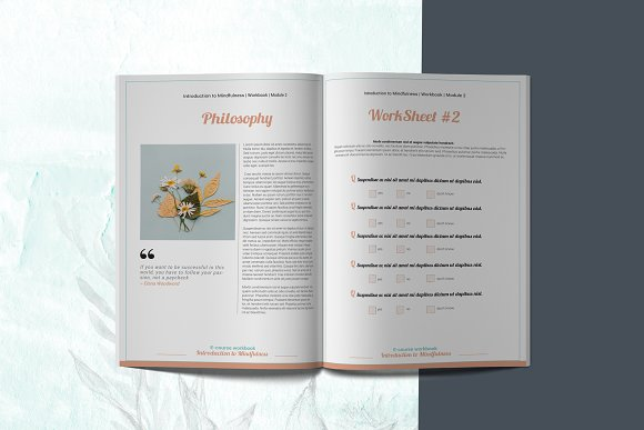 E-course Workbook / Opt-in Template in Magazine Templates - product preview 5