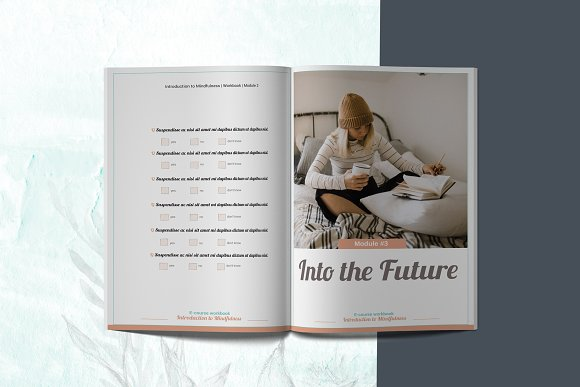 E-course Workbook / Opt-in Template in Magazine Templates - product preview 7
