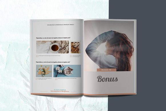 E-course Workbook / Opt-in Template in Magazine Templates - product preview 9