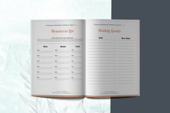 E-course Workbook / Opt-in Template in Magazine Templates - product preview 11