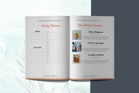 E-course Workbook / Opt-in Template in Magazine Templates - product preview 12