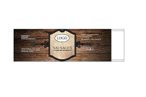 Label for Sausages Quarto