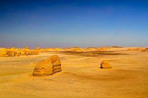 Nature sculpture in Wadi Al-Hitan ak