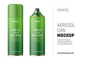 Aerosol can mockup