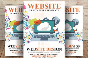 Website Design Services Flyer